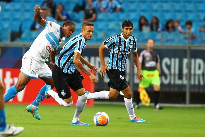 grêmio novo hamburgo luan alan ruiz (Foto: Lucas Uebel/Grêmio FBPA)