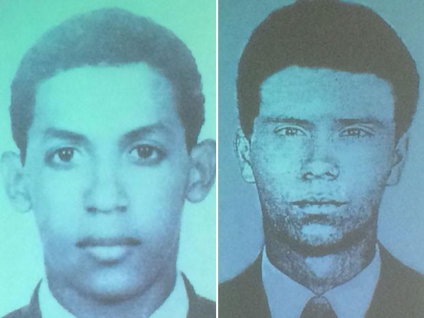 Jael Vasconcelos Santos (esq.) e Paulo Torres Gonçalves, estudantes desaparecidos na ditadura militar (Foto: Reprodução / Comissão da Verdade)