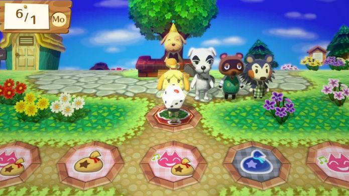 Animal Crossing Amiibo Party o desafia a rodar o dado... e só (Foto: Divulgação/Nintendo)