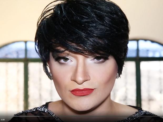 Campanha do MP-SP pela tolerância traz drag queen Deena Love  (Foto: Divulgação)