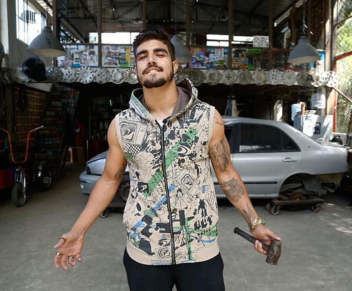 Grego comanda a comunidade em 'I Love Paraisópolis' (Foto: TV Globo)