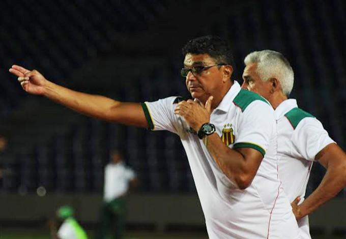 Flávio Araújo durante jogo contra o Araioses nesse domingo (Foto: Foto: Biaman Prado/O Estado)