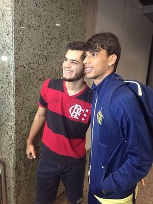 Paquetá já é assediado após golaço contra o Madureira (Foto: Reprodução/Twitter Flamengo)