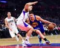 Sobrando, Warriors varrem Clippers em L.A. e seguem voando na liderança