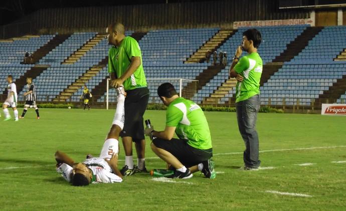 Fred Pacheco disse que Tigre tem que descansar e focar no próximo jogo (Foto: Wilkson Tarres/Globoesporte.com)