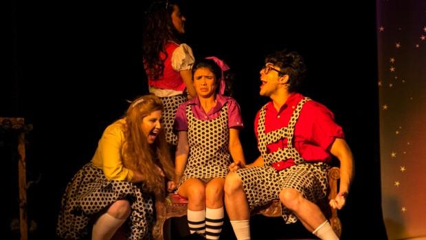 Espetáculo é livremente inspirado na Bruxa Má do Oeste, de O Mágico de Oz (Foto: Divulgação)