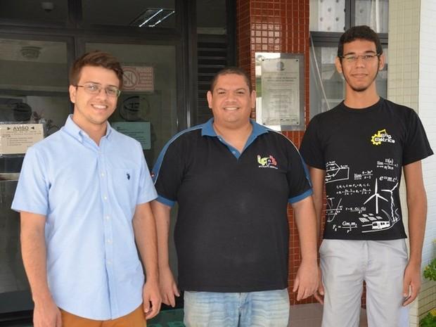 Estudantes de Engenharia Elétrica querem desenvolver uma chupeta eletrônica  (Foto: Daniela Espínola/Comunicação Social IFPB)