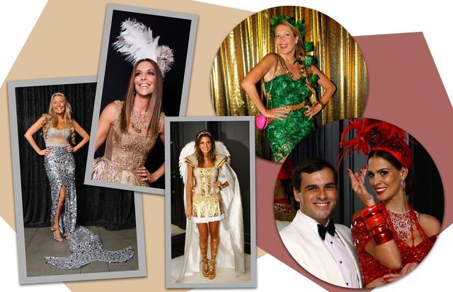 Vestidos de Sandro Barros em exibição em São Paulo (Foto: Arte Vogue Online)