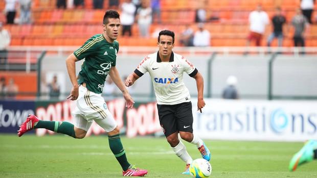 Jadson, Corinthians x Palmeiras (Foto: Marcos Ribolli)