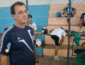 Adjair Pacheco, técnico do Central/Apcef-PE (Foto: Vital Florêncio / GE.COM/CARUARU)