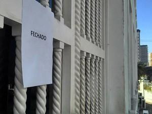Maternidade Januário Cicco passará toda esta quarta (26) sem fazer partos (Foto: Igor Jácome/G1)
