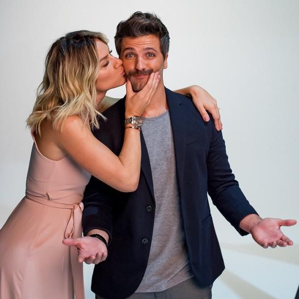 Giovanna Ewbank e Bruno Gagliasso na campanha da marca de relógios Technos (Foto: Divulgação)