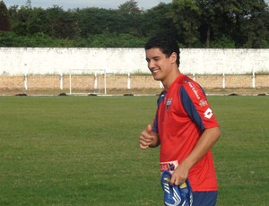 Luciano Sorriso Volta a treinar  (Foto: Roberto Ranulfo/GLOBOESPORTE.COM)