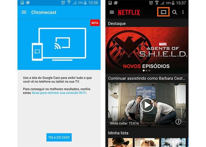 Problemas com transmissão de streaming com apps e o Chromecast (Foto: Reprodução/Barbara Mannara)
