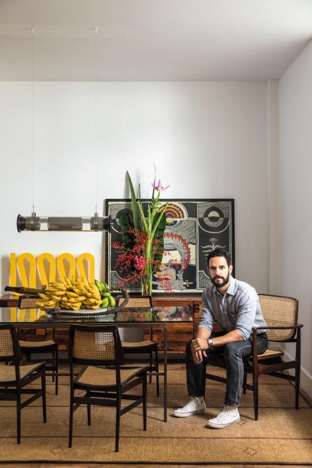 Preferenza Casa carioca mistura clima tropical, objetos artesanais e design  NN86