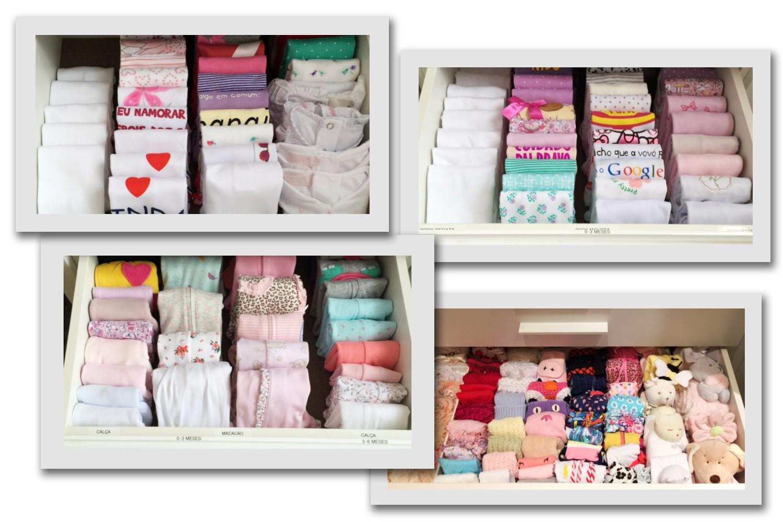 Gavetas no closet de Maria Flor (Foto: Divulgação)