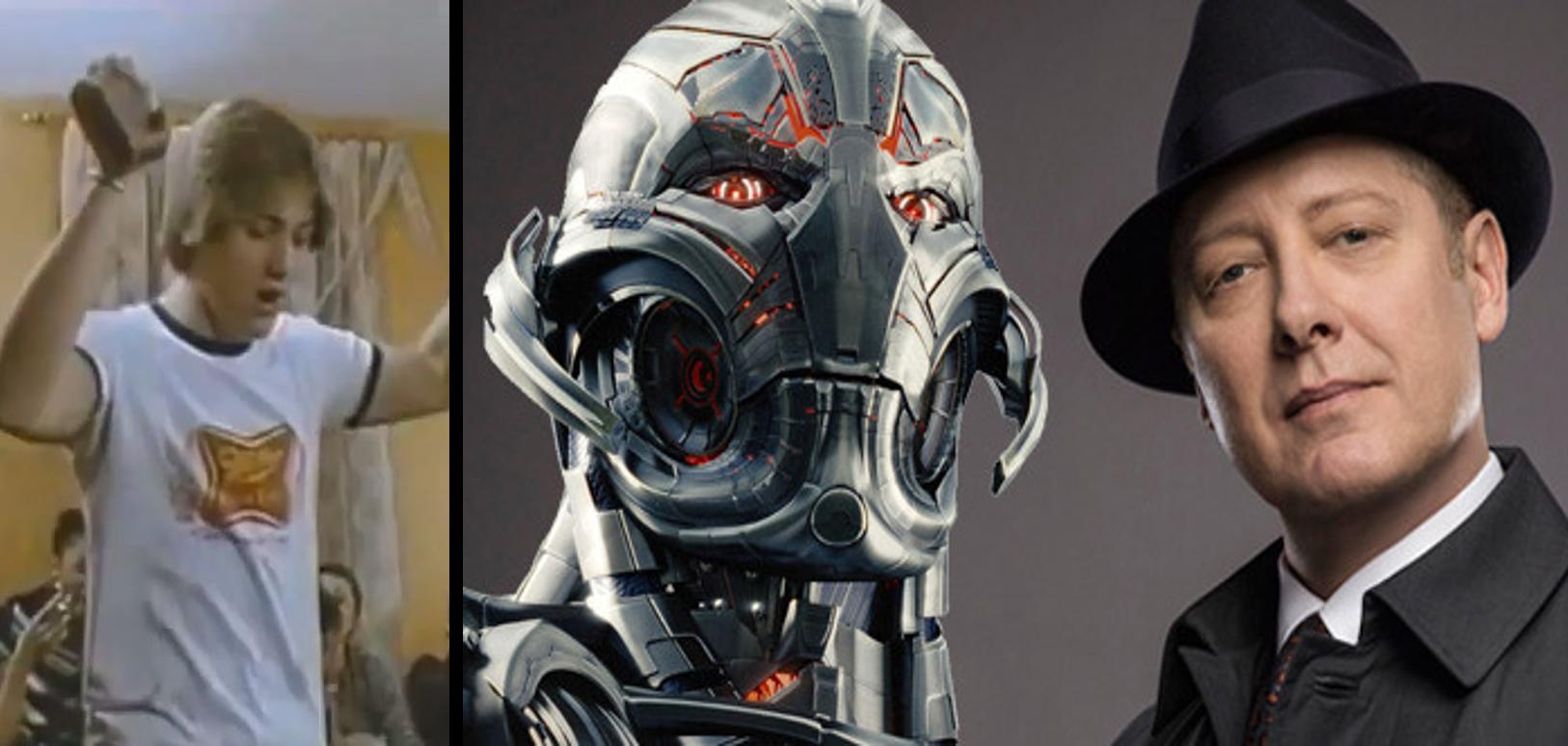 James Spader e Ultron (Foto: Divulgação)