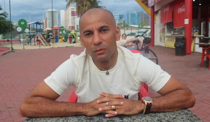 Afrânio, jogador de futsal piauiense (Foto: Wenner Tito)