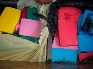 Dois são presos em Stella Mares por tráfico de drogas (Foto: Divulgação/PF)