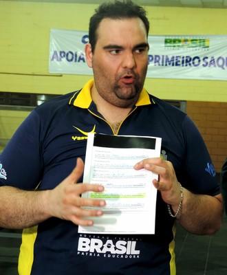 Cláudio Massad, mesatenista, paralímpico, Bauru, lista (Foto: Sérgio Pais)