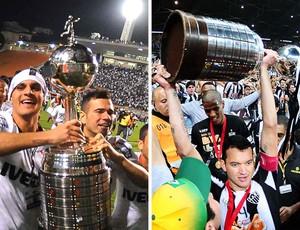 Corinthians e Atlético Mg Campeões Libertadores 2013, 2014