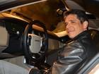 Márcio Garcia e Eriberto Leão prestigiam lançamento de carro