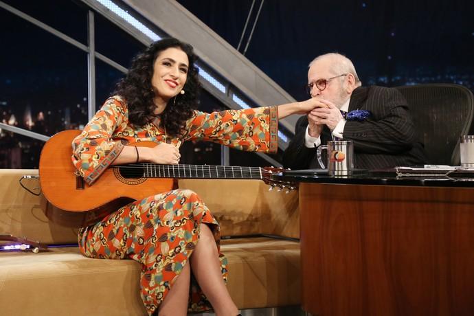 Diva é diva, né? Com vocês, Marisa Monte! (Foto: Carol Caminha/Gshow)