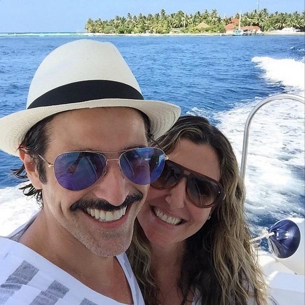 Reynaldo Gianecchini e Christiane Alves (Foto: Reprodução/Instagram)