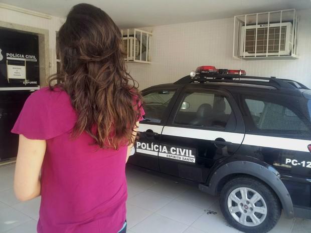 Estudante registrou o caso na polícia (Foto: Juirana Nobres/G1)