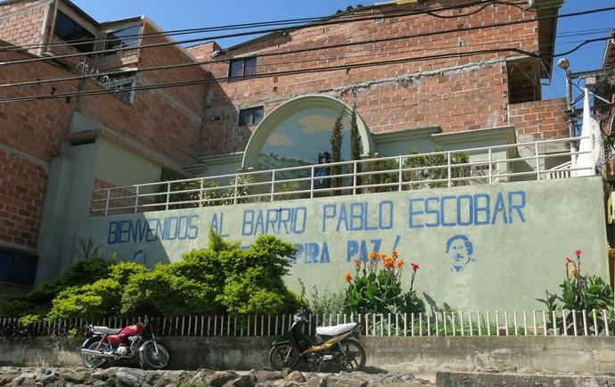 Bairro Pablo Escobar Medellín (Foto: Jorge Natan)