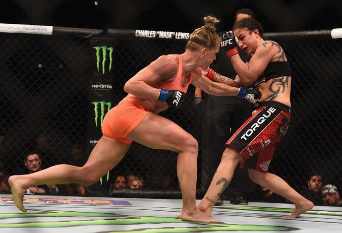 Holly Holm Raquel Pennington UFC 184 (Foto: Getty Images)