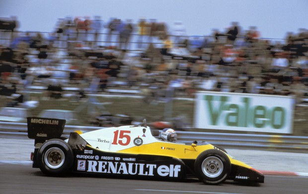 Fórmula 1 - French Formula One Grand Prix 1983  - Alain Prost (Foto: AFP)