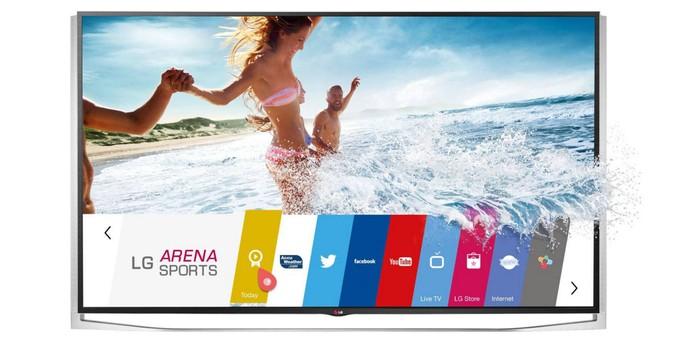 LG Smart TV 4K 3D com tela de 84 polegadas (Foto: Divulgação/LG)