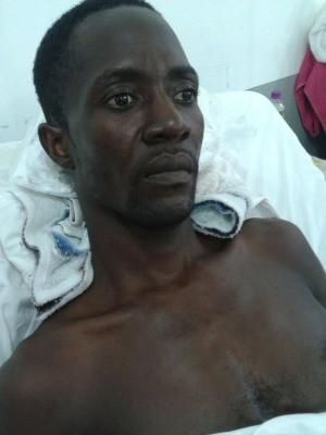 Elveus Chisner está internado no Pronto Socorro de Cuiabá (Foto: Alcene Amado/ Arquivo pessoal)