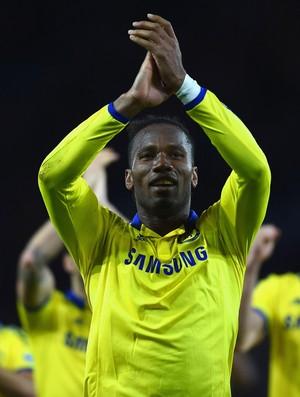 Didier Drogba Chelsea Leicester (Foto: AFP)
