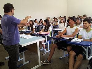 Ifes teve a maior média no Enem 2011, no Espírito Santo (Foto: Amanda Monteiro/ G1 ES)