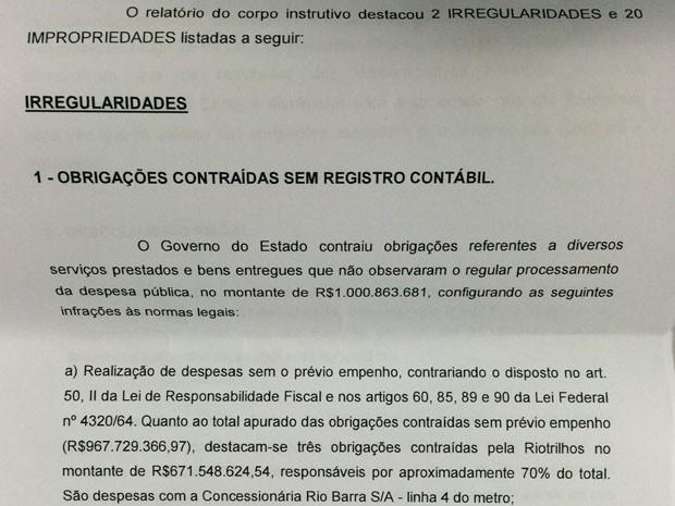 Representação foi enviada ao Ministério Público (Foto: Reprodução)