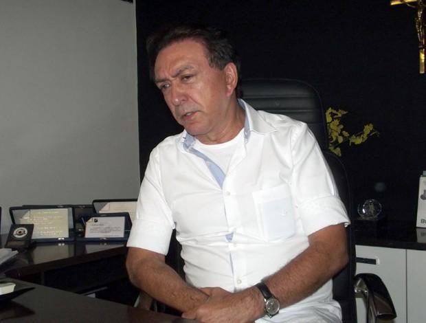Rubens Guilherme, presidente do ABC (Foto: Tiago Menezes/GLOBOESPORTE.COM)