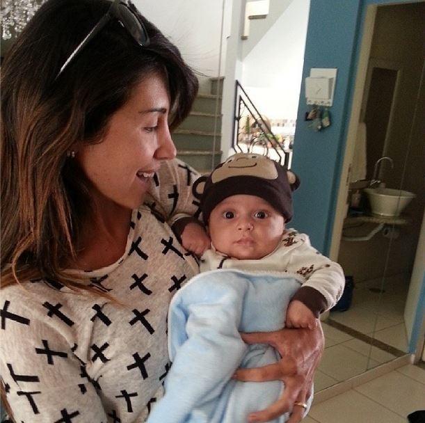 Jaque Khury e o filho, Gael (Foto: Instagram/Reprodução)