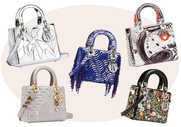 Lady Dior ganha dez novas versões em edição exclusiva criada por artistas (Foto: Divulgação)