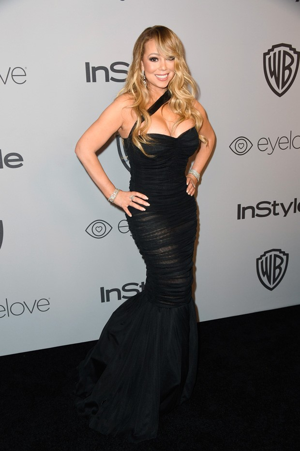 BEVERLY HILLS, CA - JANUARY 07:  Recording artist Mariah Carey attends the 19th Annual Post-Golden Globes Party hosted by Warner Bros. Pictures and InStyle at The Beverly Hilton Hotel on January 7, 2018 in Beverly Hills, California.  (Photo by Frazer Harr (Foto: Getty Images)