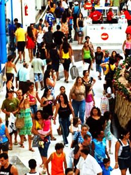Shopping em Vitória (Foto: Nestor Müller / Arquivo A Gazeta)