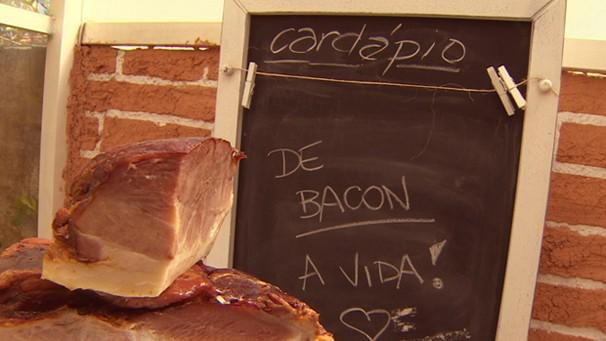De Bacon a Vida (Foto: Reprodução/TV Vanguarda)