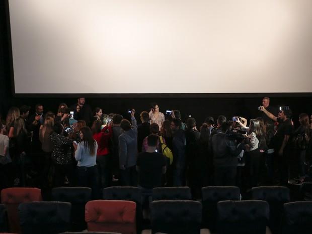 Lançamento do filme É fada em São Paulo (Foto: Rafael Cusato/ Brazil News)