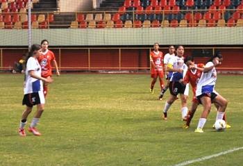 Rio Branco-AC x Vitória-AC, Campeonato Acreano de Futebol Feminino 2016 (Foto: Duaine Rodrigues)