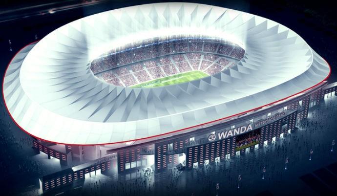 BLOG: Corrida contra o tempo: obras do estádio do Atlético de Madrid estão na reta final