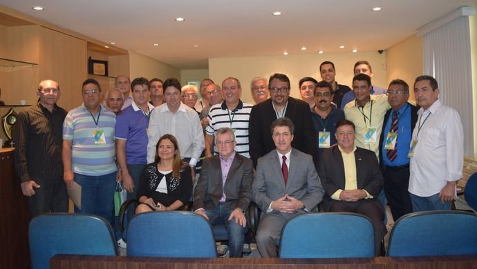 Marcos Madeira eleição CBFS (Foto: Divulgação/CBFS)