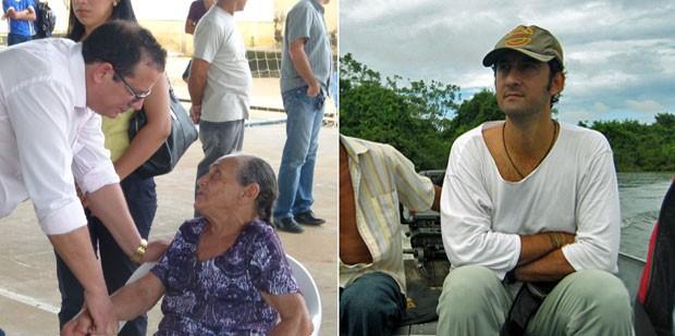 O cubano Jesus, e o espanhol José Maria Hernandez (Foto: Arquivo Pessoal)