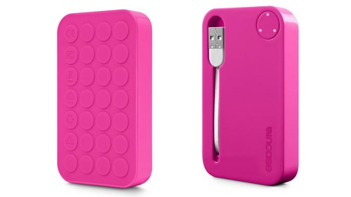 Incase Portable Power 2500 é um carregador externo capaz de recarregar um iPhone totalmente (Foto: Divulgação/Incase)