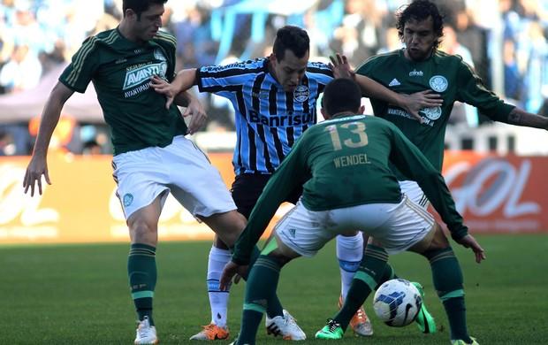 Grêmio x Palmeiras (Foto: Luciano Leon/Futura Press)